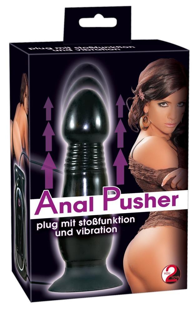 Image of Anal Pusher Plug m. Vibration