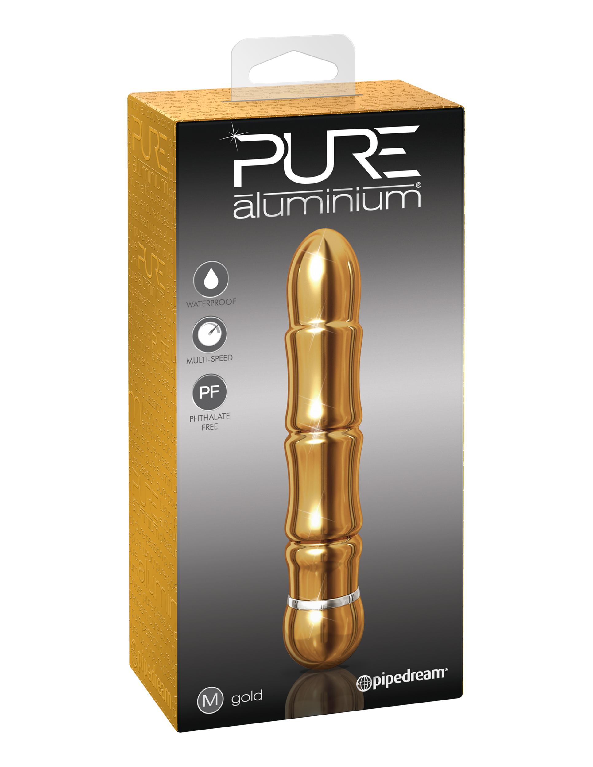 Image of PURE aluminium - gold medium