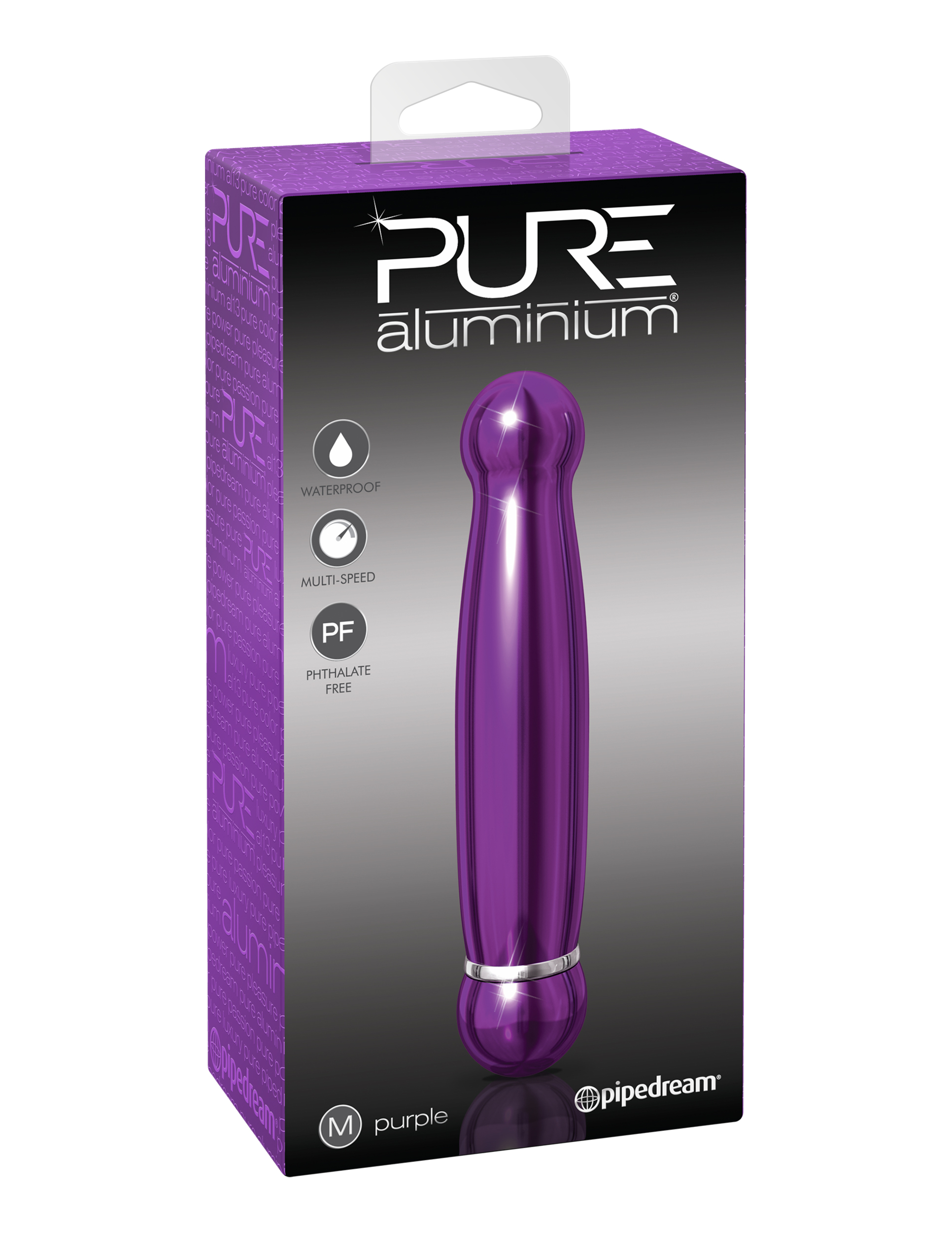 Image of PURE aluminium - purple medium