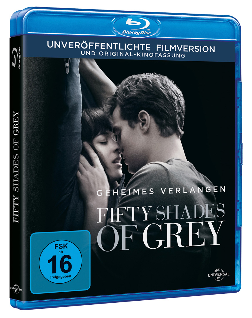 Image of Blu Ray Shades of Grey