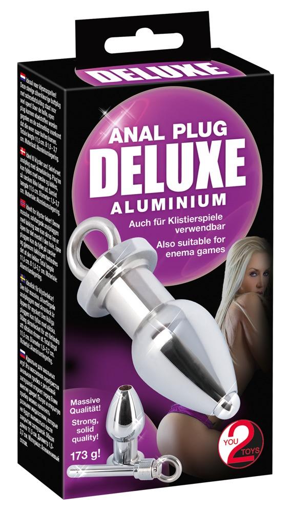 Image of Anal Plug deluxe Aluminium