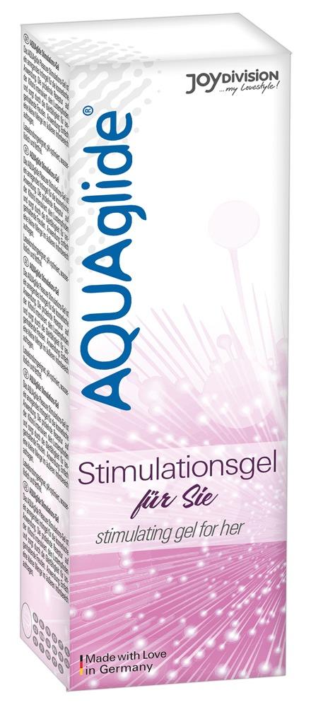 Image of AQUAglide Stimulationsgel 25ml