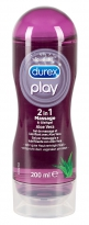 Durex Play Massage-Gel 200 ml Aloe Vera