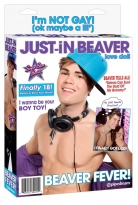 Just-in-Beaver Puppe