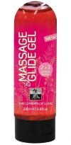 Massage&Glide Strawberry 200ml