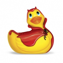 I Rub My Duckie Red Devil