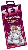 Sex-Stellungen Gutscheine