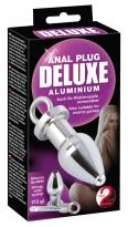 Anal Plug deluxe Aluminium