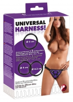 Universal Harness + 3 Ringe