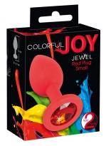 Colorful Joy Jewel Red Plug S