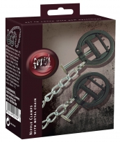 Nipple Clamps with Metal Chain