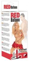 Red Balloon Dildo z.aufpumpen